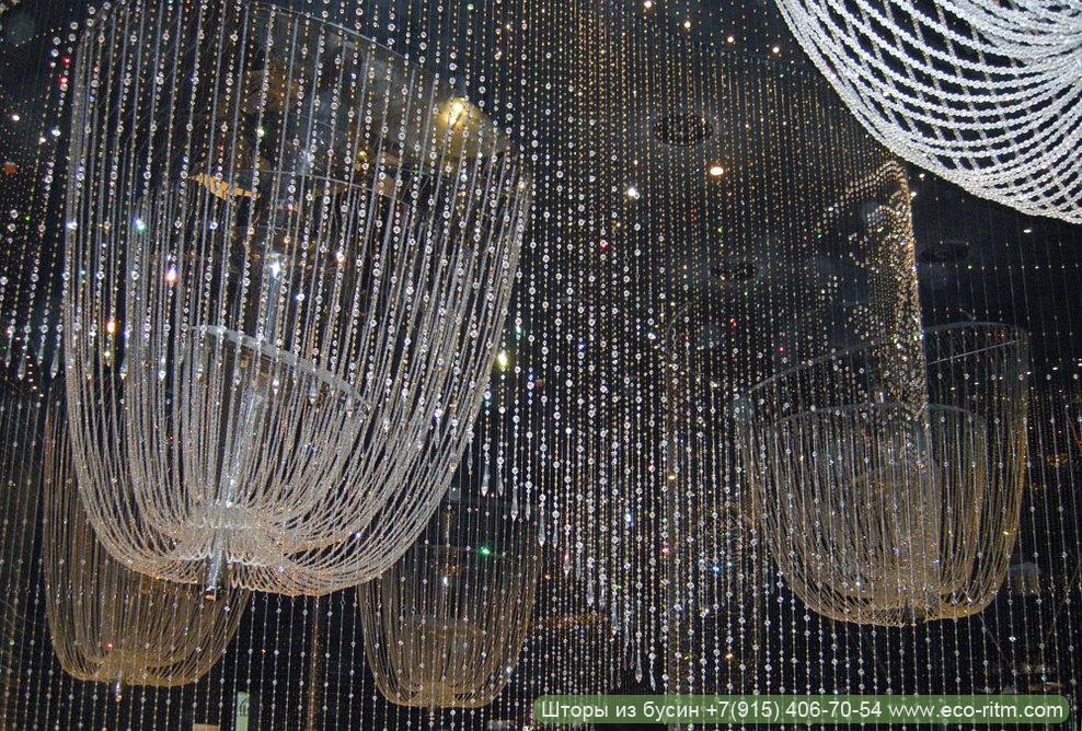 Роскошный декор - шторы из бусин