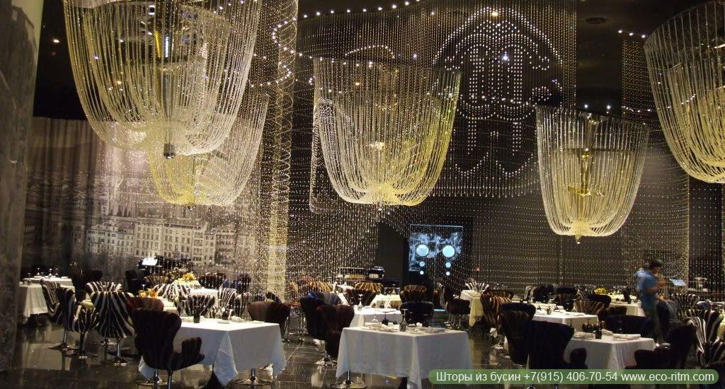 Роскошный декор в Cavalli Club Dubai