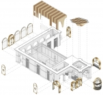 3Д проект ресторана