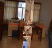 Гирлянда из крупных кристаллов