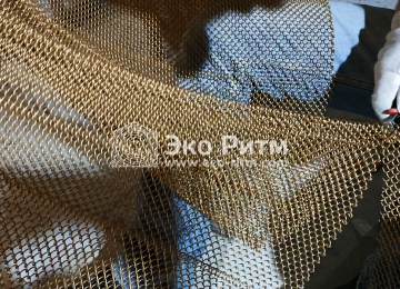 Металлические шторы, подрезка сетки