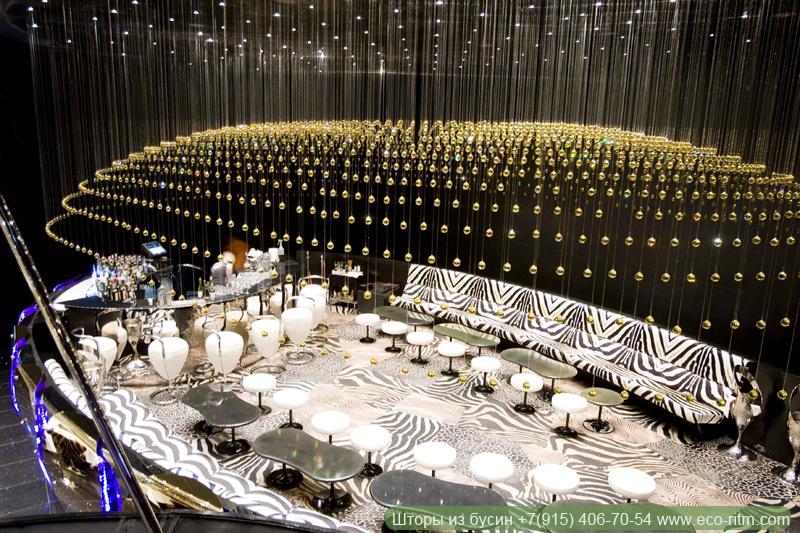 Декор ночного клуба в Дубаи