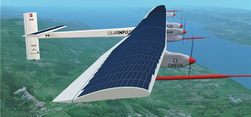 Солнечный самолет Solar Impulse