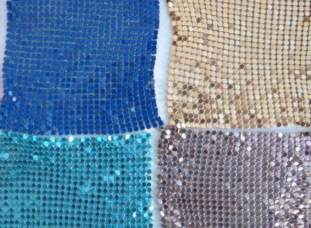 Ткань из металлических пластин
